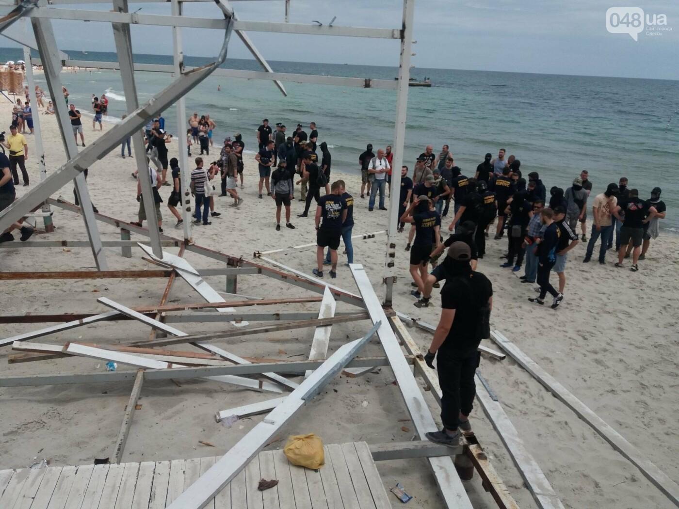 Полицейские рассказали, что думают об акции «Вернем себе пляжи» на одесском Фонтане, - ФОТО, фото-2