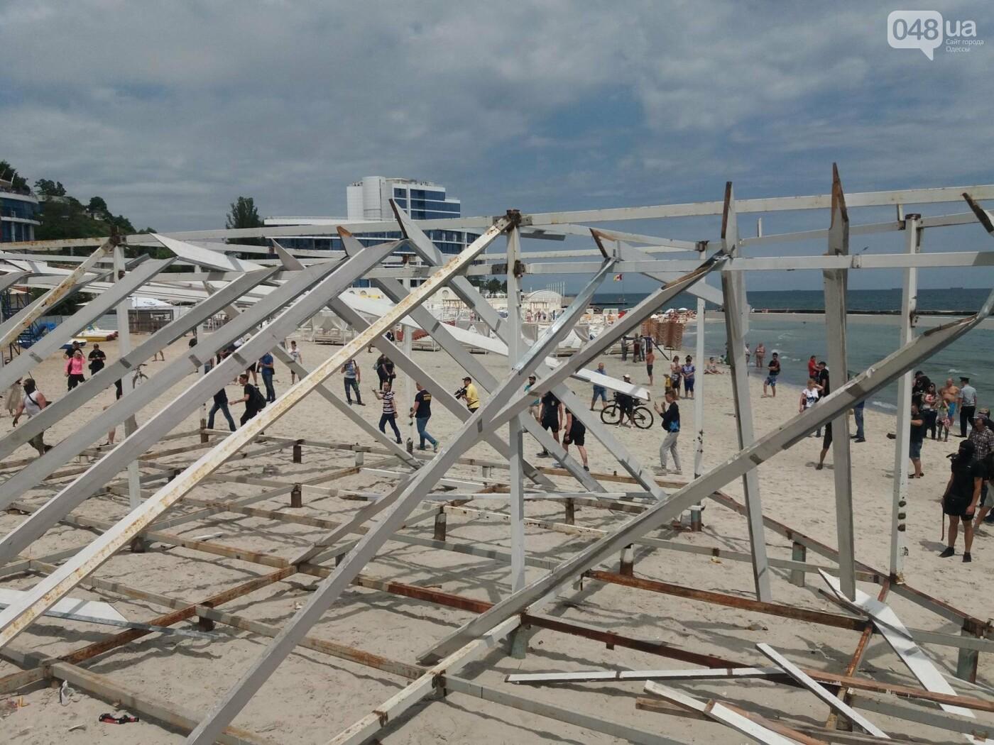 Полицейские рассказали, что думают об акции «Вернем себе пляжи» на одесском Фонтане, - ФОТО, фото-3