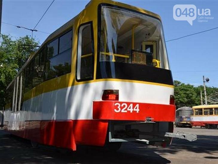 В Одессе будет курсировать новый трамвай с частично низким полом, - ФОТО, фото-1