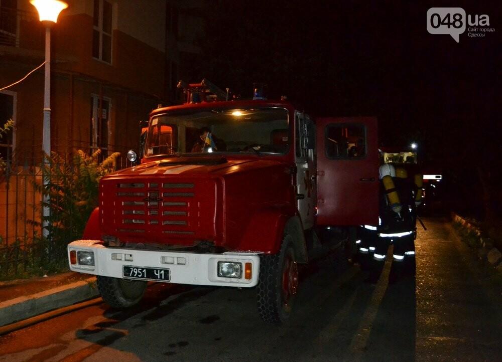 В Одессе тушили пожар в десятиэтажке, - ФОТО, ВИДЕО, фото-1