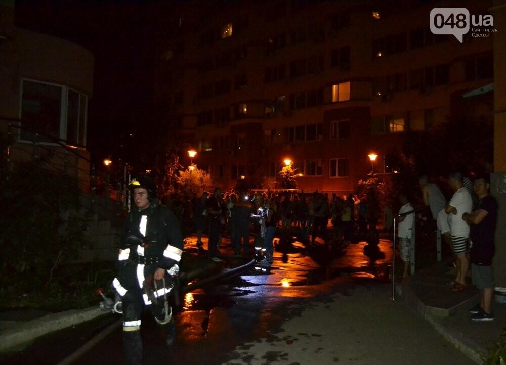 В Одессе тушили пожар в десятиэтажке, - ФОТО, ВИДЕО, фото-2