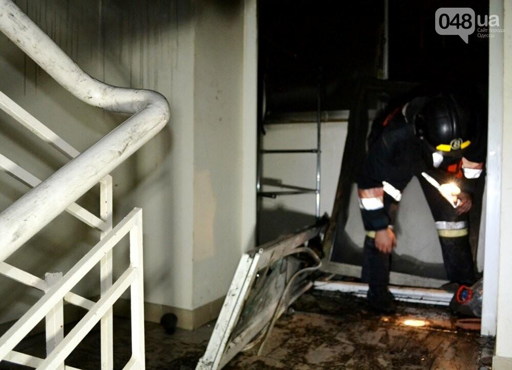 В Одессе тушили пожар в десятиэтажке, - ФОТО, ВИДЕО, фото-3