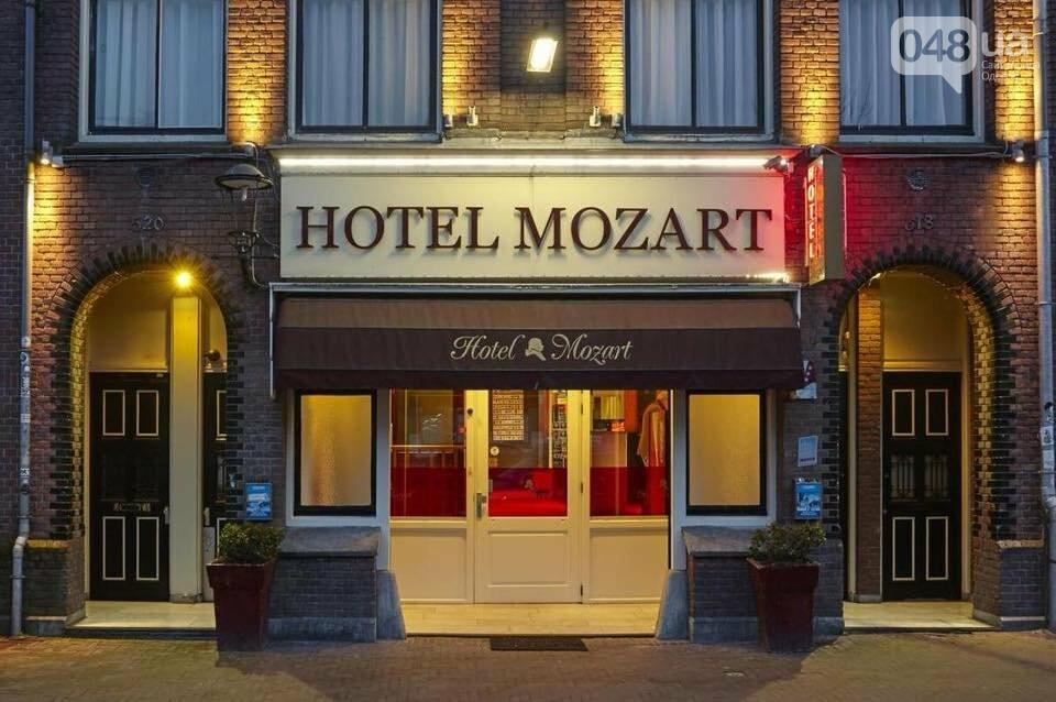 "Охрана одесского отеля ""Моцарт"" пообещала пробить гвоздями колеса припаркованного авто, - ФОТО, фото-1"
