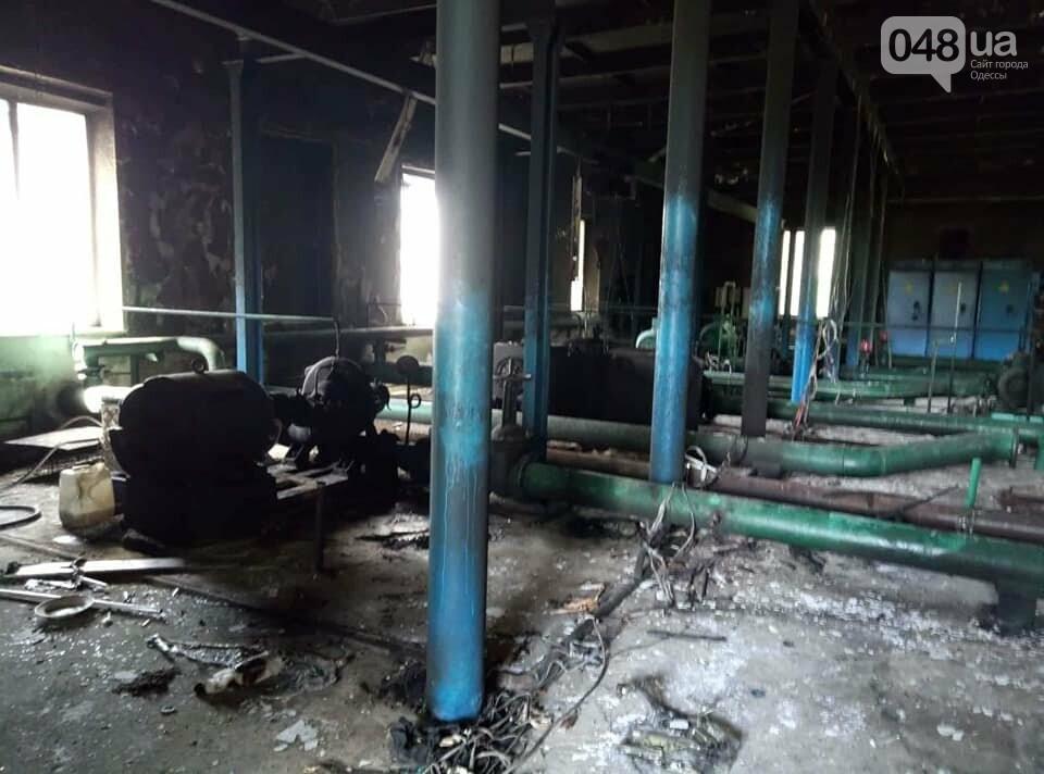 Под Одессой вооруженные неизвестные сожгли водонасосную станцию, - ФОТО , фото-5