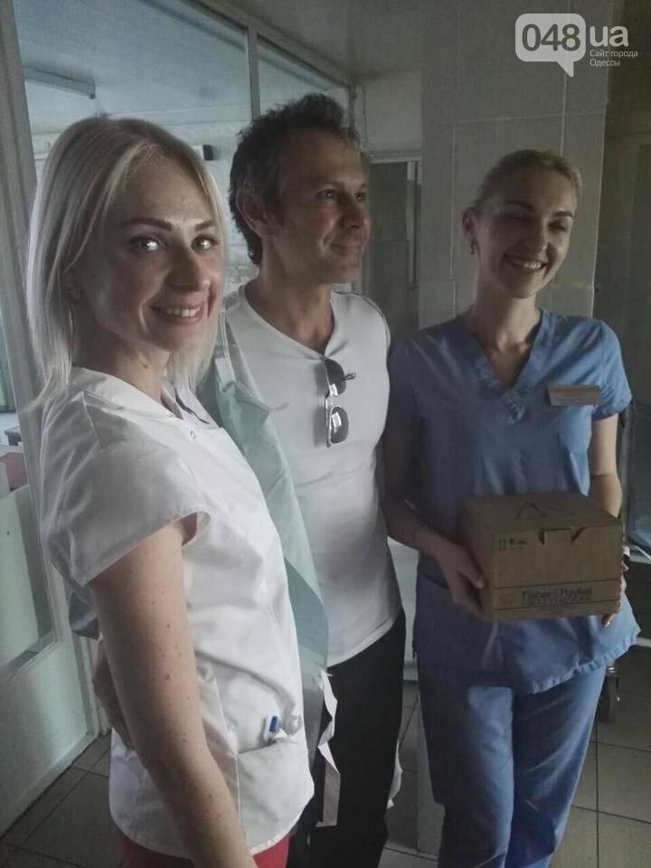 Вакарчук навестил детей в одесской больнице: было видно, что ему больно, - ФОТО, фото-2