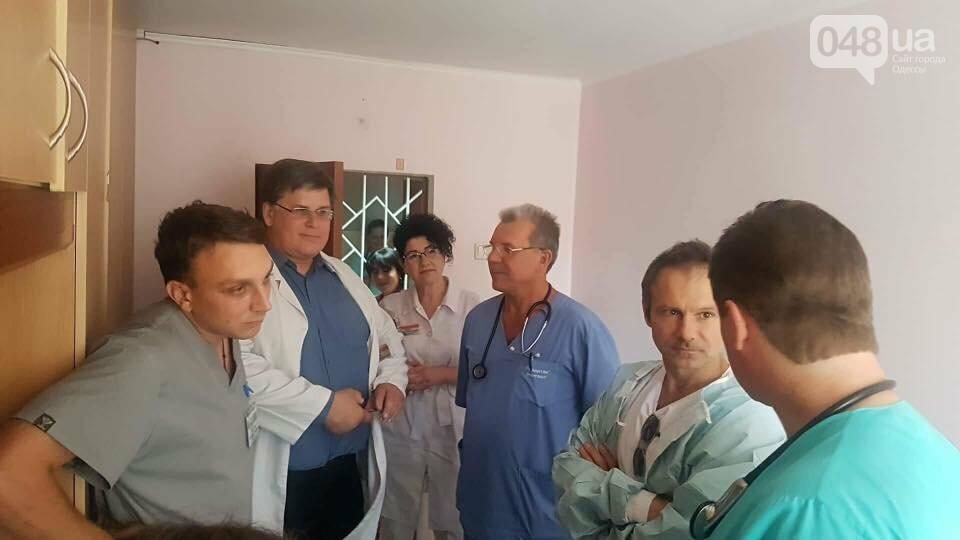 Вакарчук навестил детей в одесской больнице: было видно, что ему больно, - ФОТО, фото-3