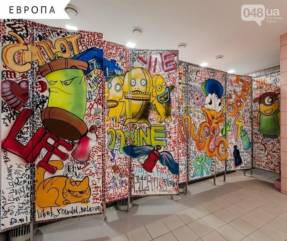 В одесском торговом центре появился креативный туалет, - ФОТО, фото-3
