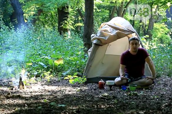 Известный одесский активист из-за угроз со стороны полиции скрывается в лесу, - ВИДЕО, фото-1