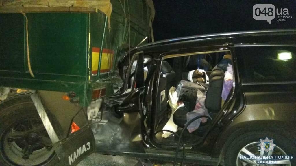 """Страшная авария на трассе """"Киев-Одесса"""": легковушка заехала под КамАЗ, - ФОТО, фото-1"""