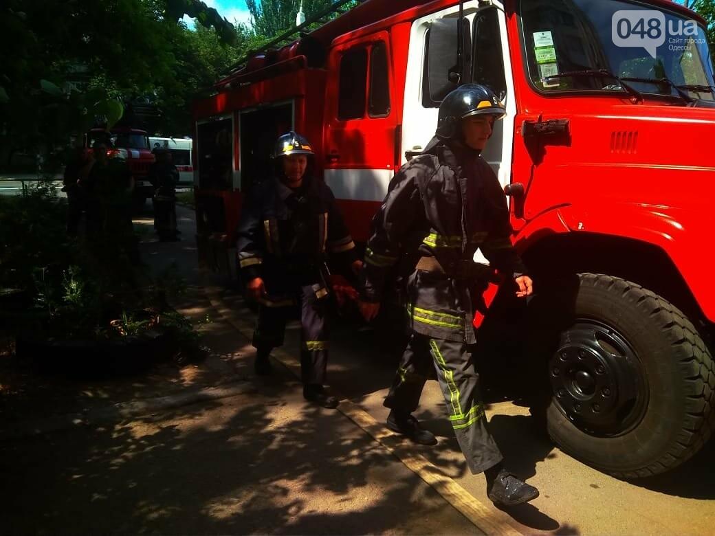В Одессе на Котовского вспыхнула электрощитовая в многоэтажном доме, - ФОТО, фото-2
