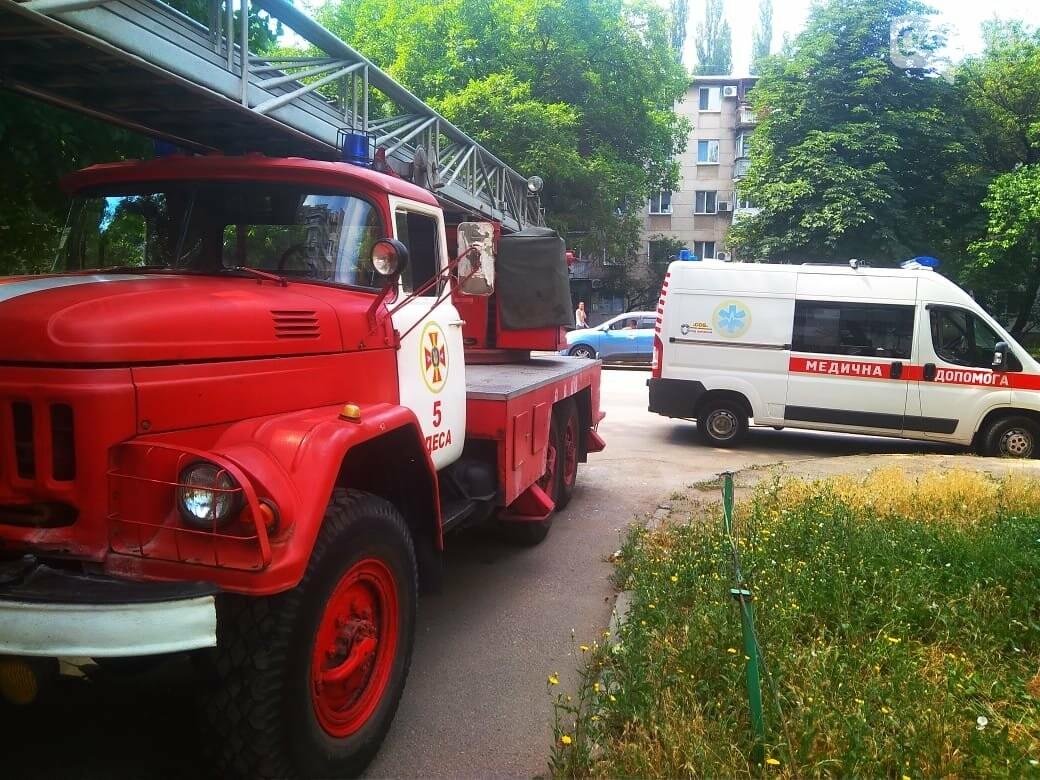 В Одессе на Котовского вспыхнула электрощитовая в многоэтажном доме, - ФОТО, фото-3