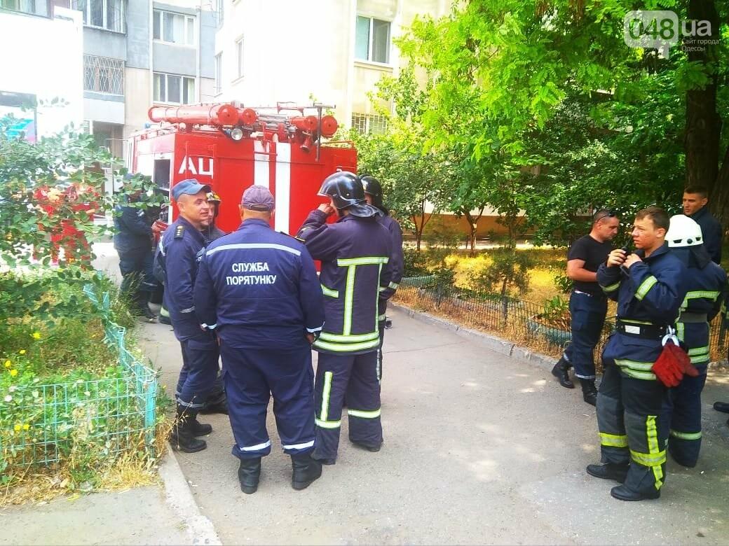 В Одессе на Котовского вспыхнула электрощитовая в многоэтажном доме, - ФОТО, фото-4