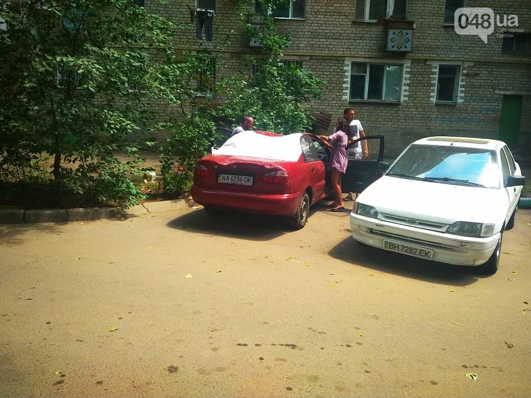 Одесские автомобилисты еще не знают, что их машины проломил тополь, - ФОТО, ВИДЕО, фото-5