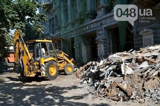 Реставрация знаковой одесской достопримечательности началась с вывоза 900 тонн мусора, - ФОТО , фото-14