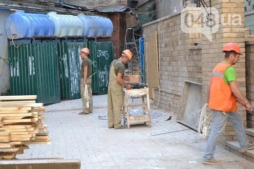 Реставрация знаковой одесской достопримечательности началась с вывоза 900 тонн мусора, - ФОТО , фото-2