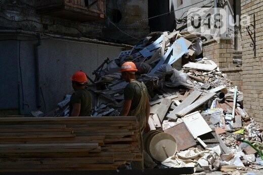 Реставрация знаковой одесской достопримечательности началась с вывоза 900 тонн мусора, - ФОТО , фото-3
