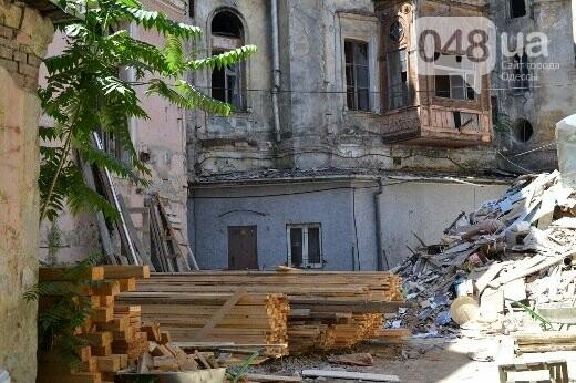 Реставрация знаковой одесской достопримечательности началась с вывоза 900 тонн мусора, - ФОТО , фото-19