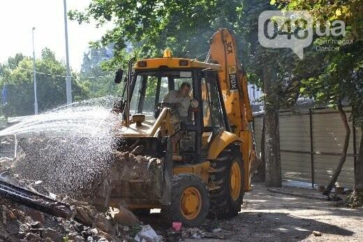 Реставрация знаковой одесской достопримечательности началась с вывоза 900 тонн мусора, - ФОТО , фото-7
