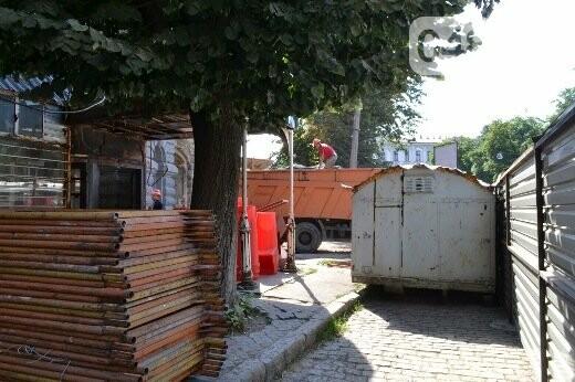 Реставрация знаковой одесской достопримечательности началась с вывоза 900 тонн мусора, - ФОТО , фото-6