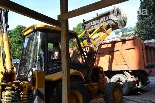 Реставрация знаковой одесской достопримечательности началась с вывоза 900 тонн мусора, - ФОТО , фото-9