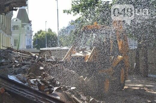 Реставрация знаковой одесской достопримечательности началась с вывоза 900 тонн мусора, - ФОТО , фото-8