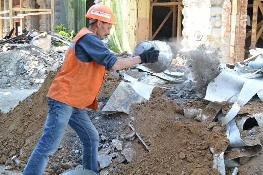 Реставрация знаковой одесской достопримечательности началась с вывоза 900 тонн мусора, - ФОТО , фото-12
