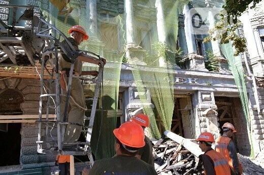Реставрация знаковой одесской достопримечательности началась с вывоза 900 тонн мусора, - ФОТО , фото-13