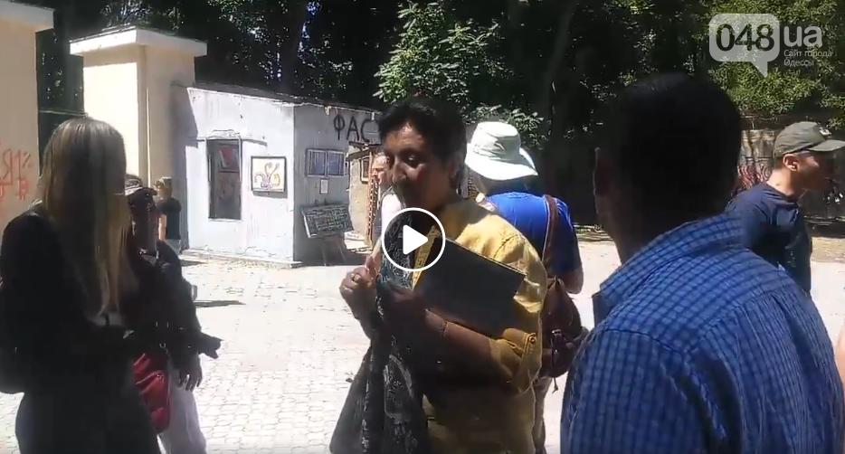 Туристам рассказывают о «подвиге одесситов», отстоявших Летний Театр, - ФОТО, ВИДЕО, фото-3