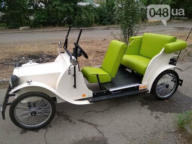На улицах Одессы заметили необычный ретро-автомобиль, - ФОТО, фото-1