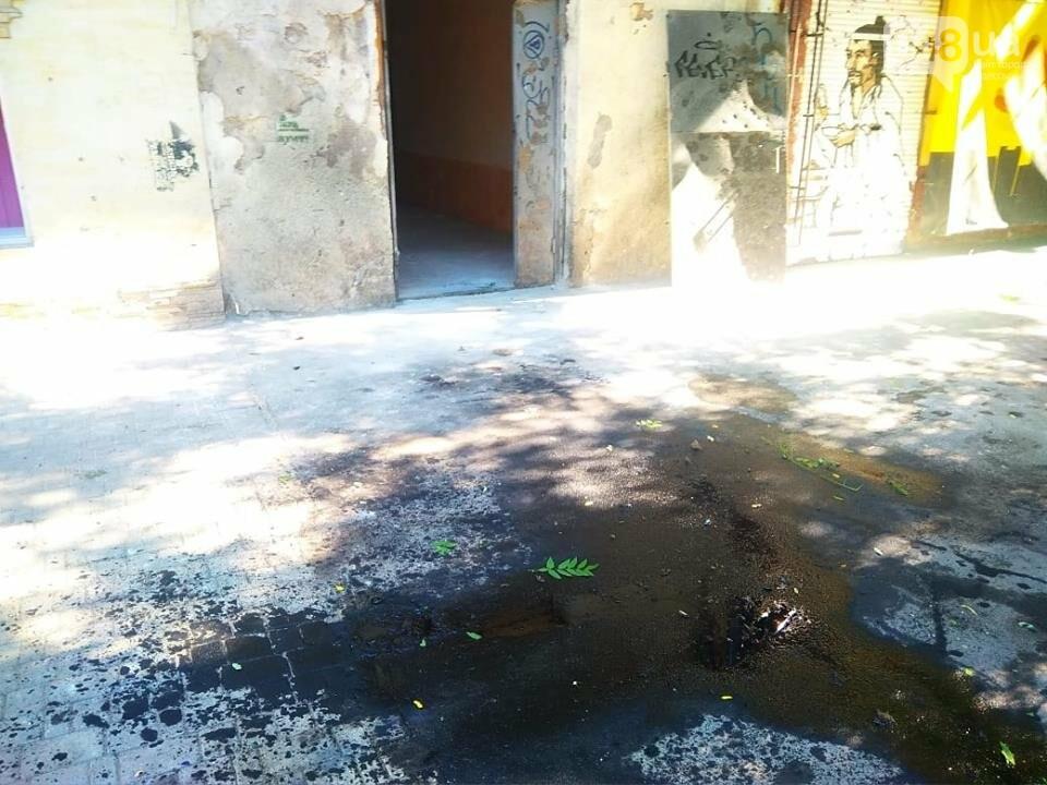Взрыв в центре Одессы: поражающие элементы пробили входную дверь, - ФОТО, ВИДЕО, фото-2