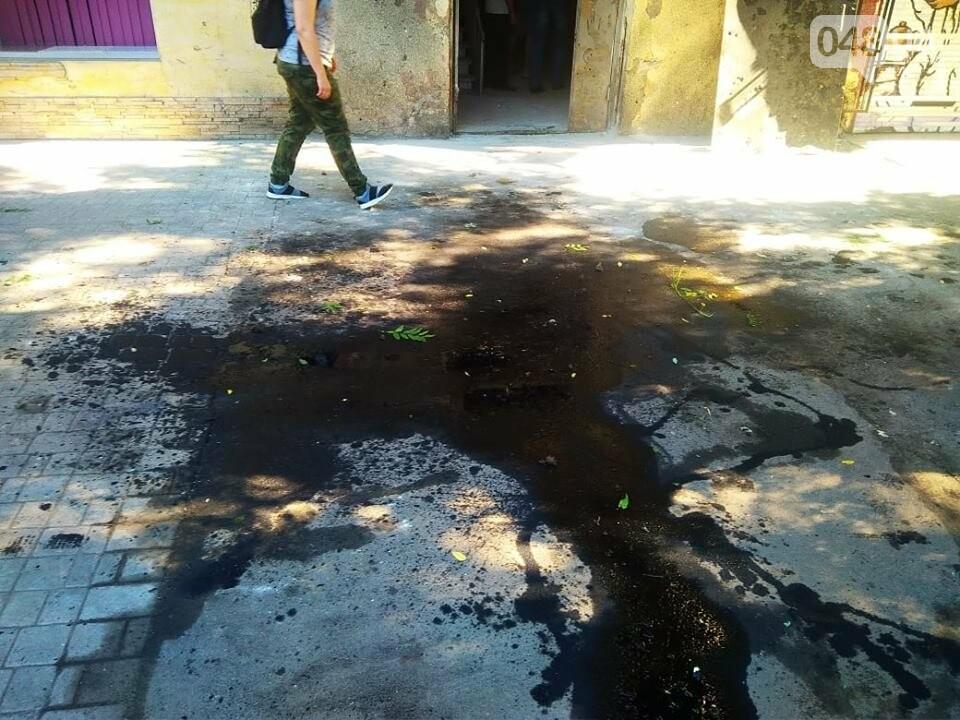 Взрыв в центре Одессы: поражающие элементы пробили входную дверь, - ФОТО, ВИДЕО, фото-3