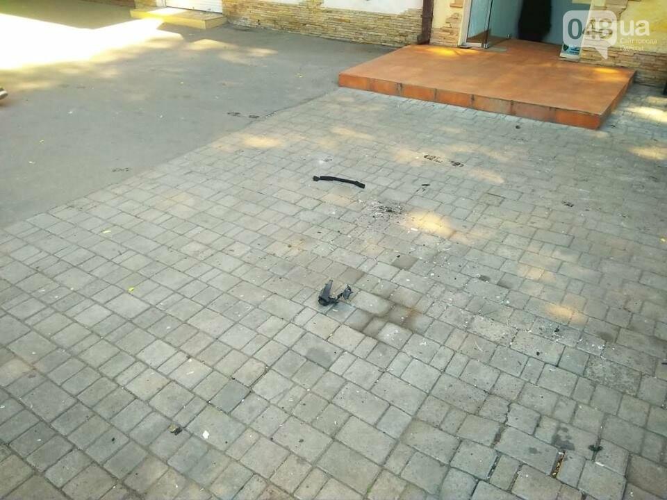 Взрыв в центре Одессы: поражающие элементы пробили входную дверь, - ФОТО, ВИДЕО, фото-13