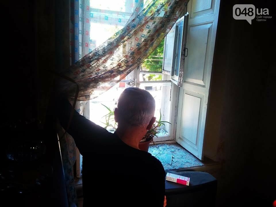 Взрыв в центре Одессы: поражающие элементы пробили входную дверь, - ФОТО, ВИДЕО, фото-8