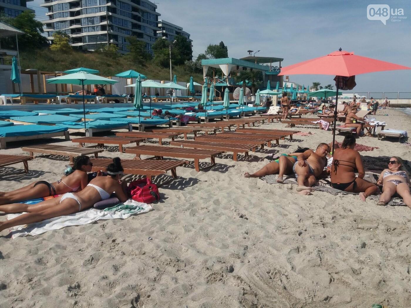 """Провокация: что будет, если на одесском пляже улечься бесплатно на """"платную"""" зону, - ФОТО, ВИДЕО , фото-6"""