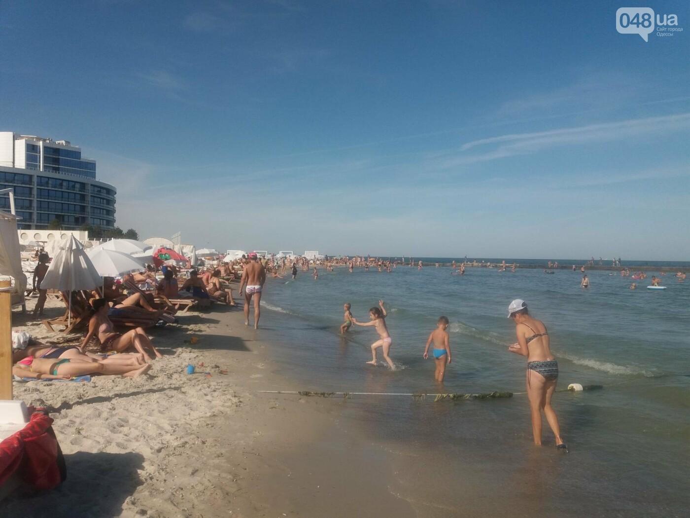 """Провокация: что будет, если на одесском пляже улечься бесплатно на """"платную"""" зону, - ФОТО, ВИДЕО , фото-1"""