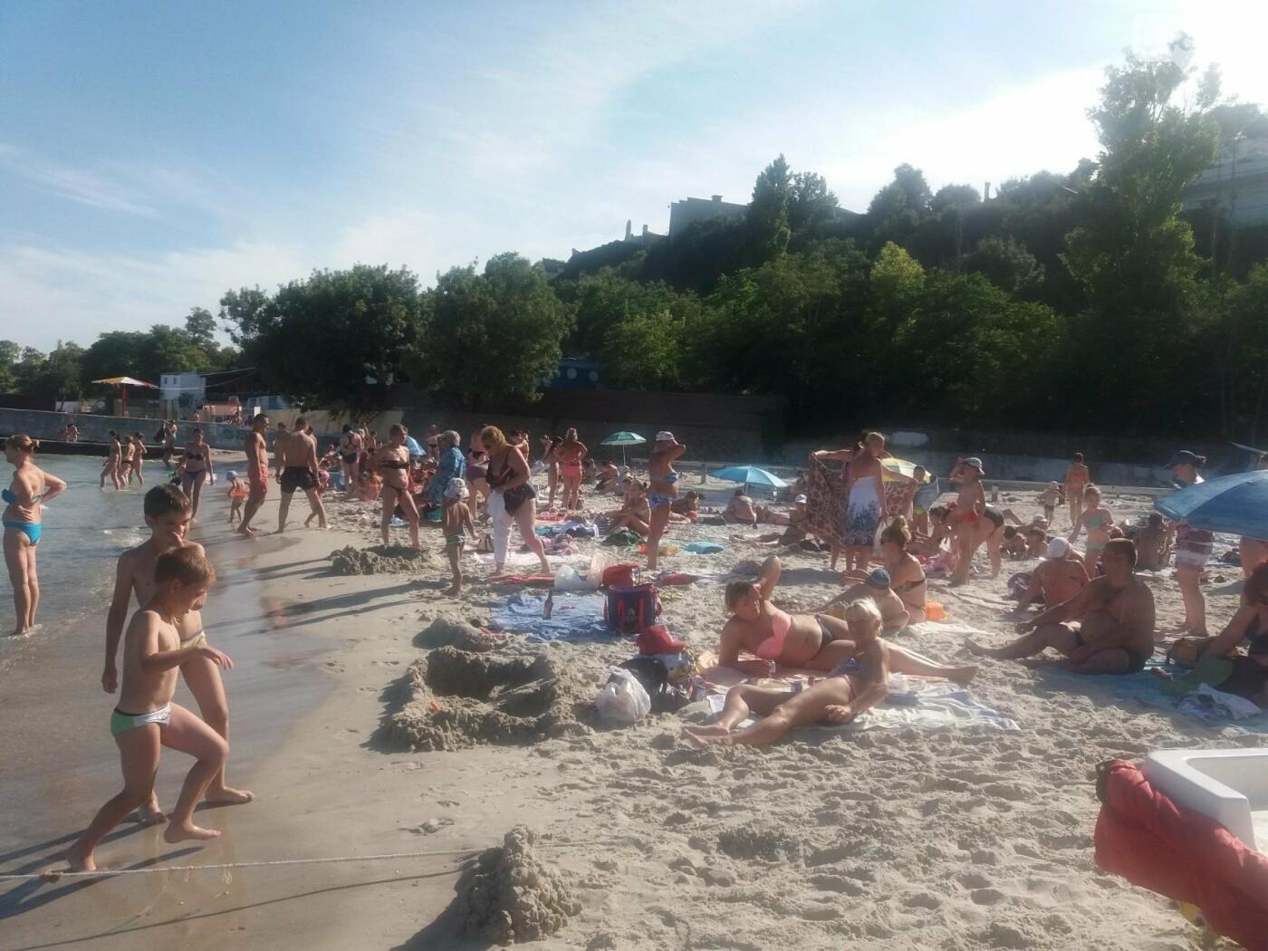 """Провокация: что будет, если на одесском пляже улечься бесплатно на """"платную"""" зону, - ФОТО, ВИДЕО , фото-13"""