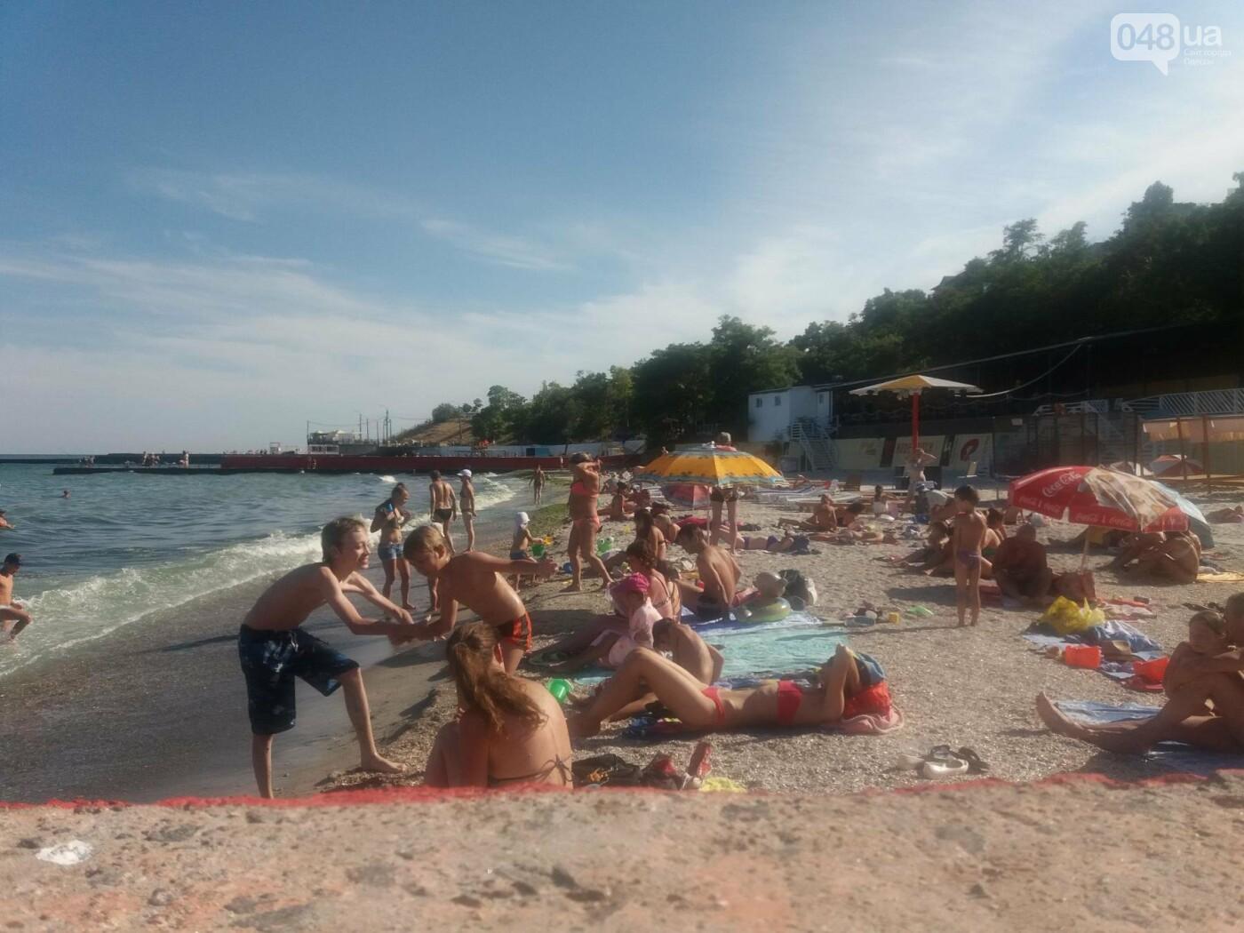 """Провокация: что будет, если на одесском пляже улечься бесплатно на """"платную"""" зону, - ФОТО, ВИДЕО , фото-2"""
