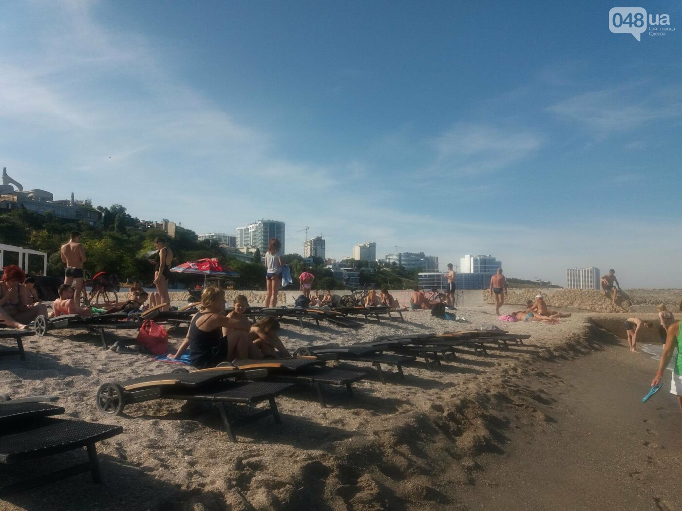 """Провокация: что будет, если на одесском пляже улечься бесплатно на """"платную"""" зону, - ФОТО, ВИДЕО , фото-3"""