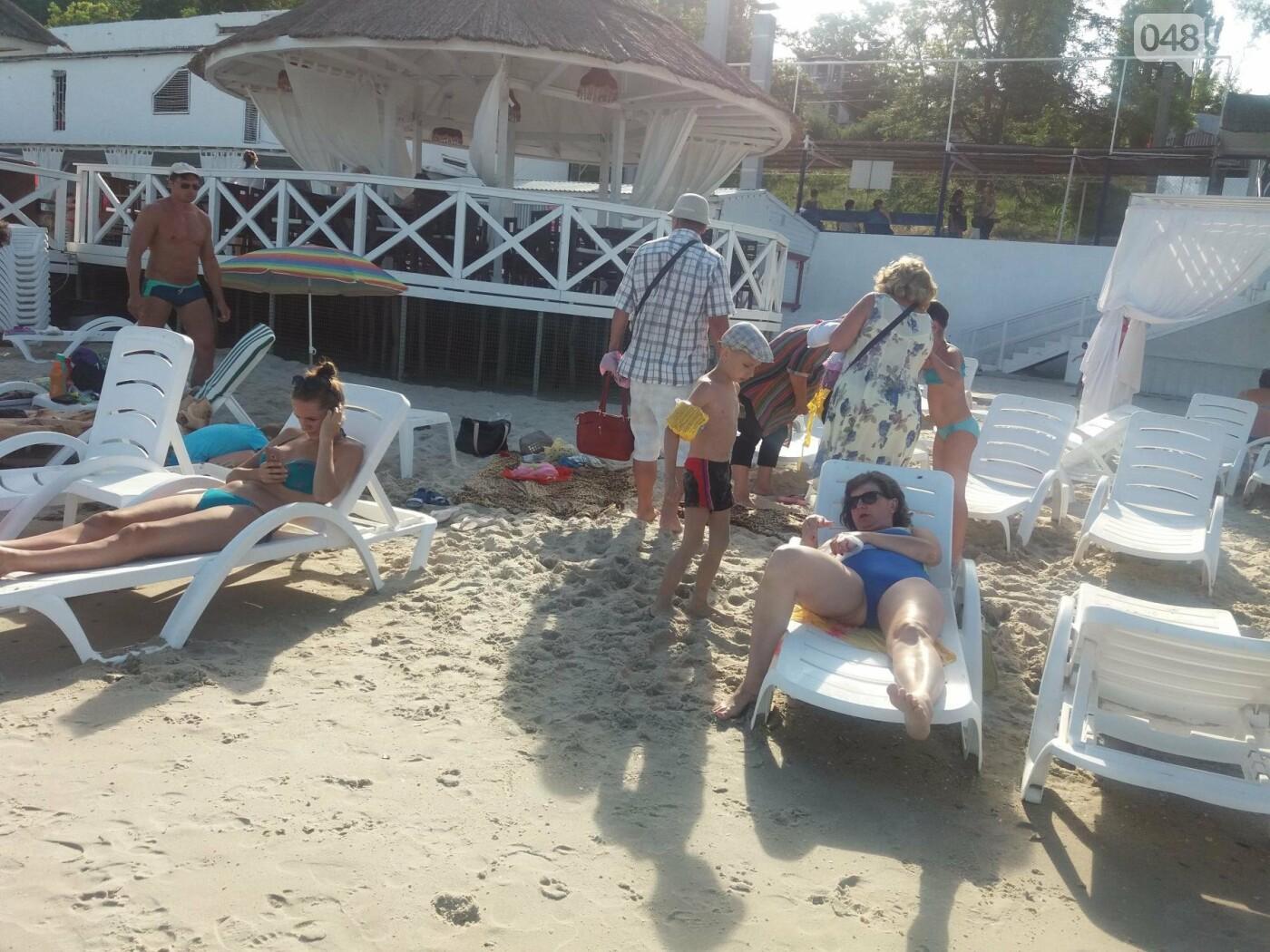 """Провокация: что будет, если на одесском пляже улечься бесплатно на """"платную"""" зону, - ФОТО, ВИДЕО , фото-5"""