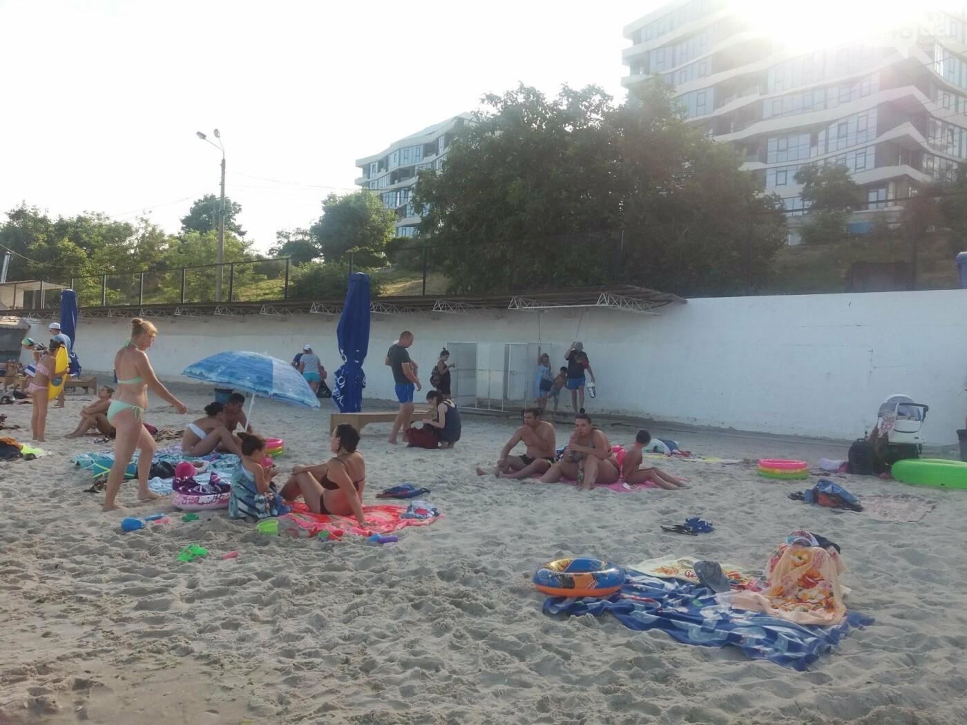"""Провокация: что будет, если на одесском пляже улечься бесплатно на """"платную"""" зону, - ФОТО, ВИДЕО , фото-14"""