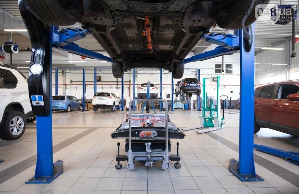 Дилер Nissan в Одессе «Н Моторс Юг» официально стал обслуживать электромобили , фото-4