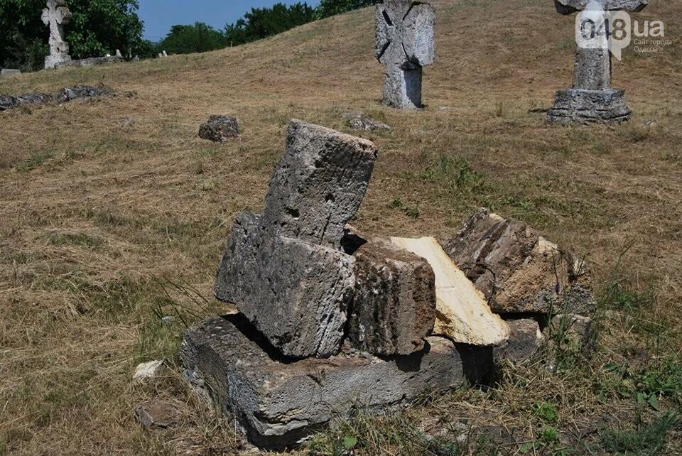 Под Одессой власти уничтожают уникальное казацкое кладбище, - ФОТОРЕПОРТАЖ, фото-5