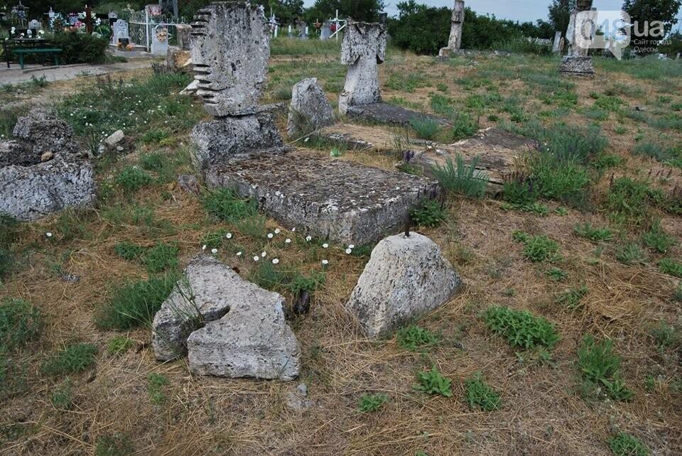 Под Одессой власти уничтожают уникальное казацкое кладбище, - ФОТОРЕПОРТАЖ, фото-12