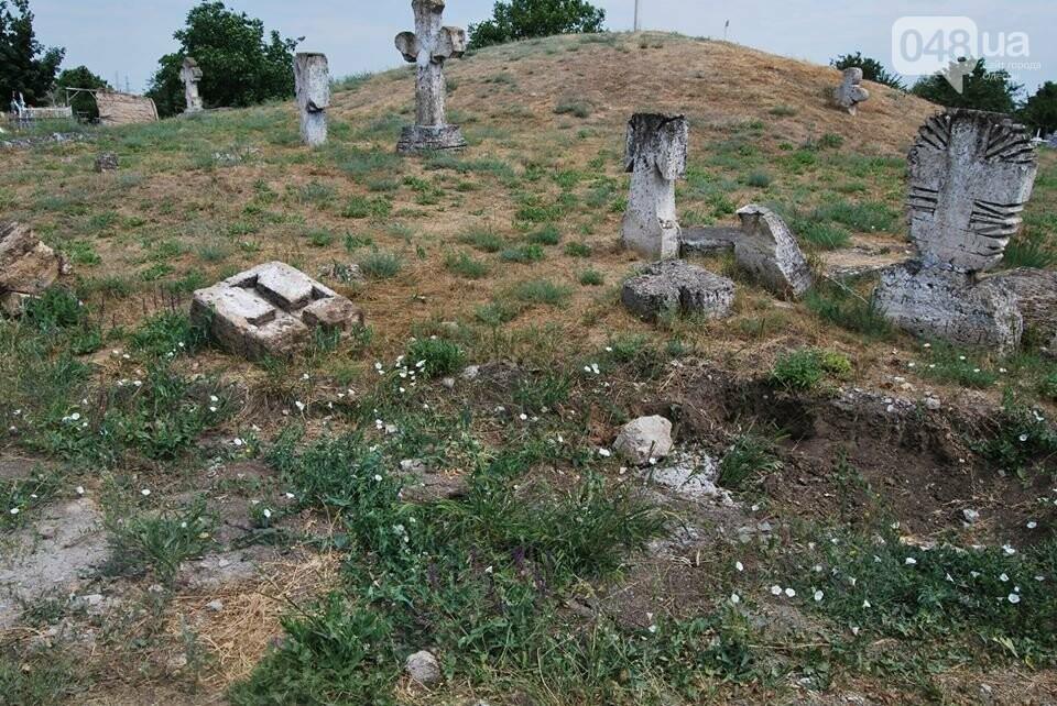 Под Одессой власти уничтожают уникальное казацкое кладбище, - ФОТОРЕПОРТАЖ, фото-6