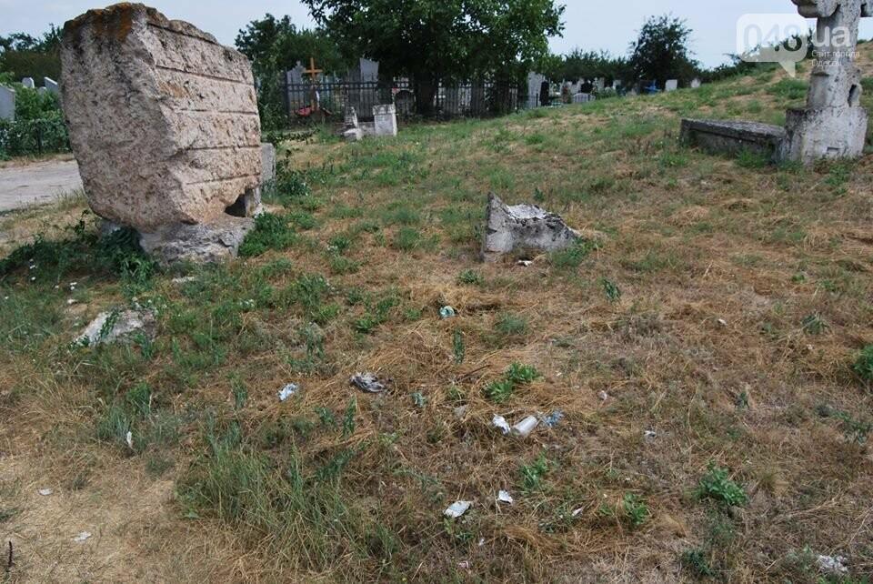 Под Одессой власти уничтожают уникальное казацкое кладбище, - ФОТОРЕПОРТАЖ, фото-7