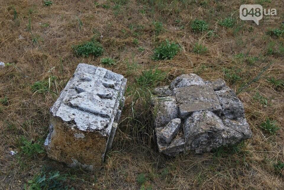Под Одессой власти уничтожают уникальное казацкое кладбище, - ФОТОРЕПОРТАЖ, фото-8