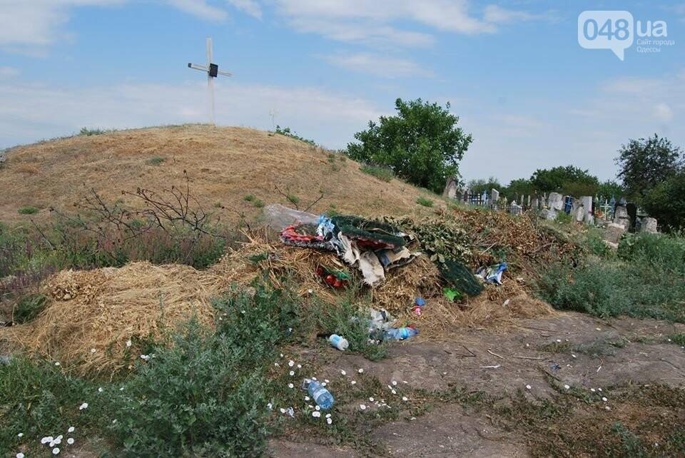 Под Одессой власти уничтожают уникальное казацкое кладбище, - ФОТОРЕПОРТАЖ, фото-10