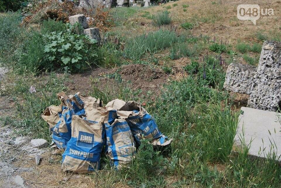 Под Одессой власти уничтожают уникальное казацкое кладбище, - ФОТОРЕПОРТАЖ, фото-11