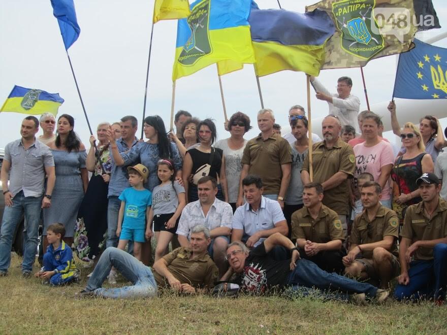 Под Одессой патриоты провели трогательную акцию, - ФОТО, ВИДЕО, фото-5
