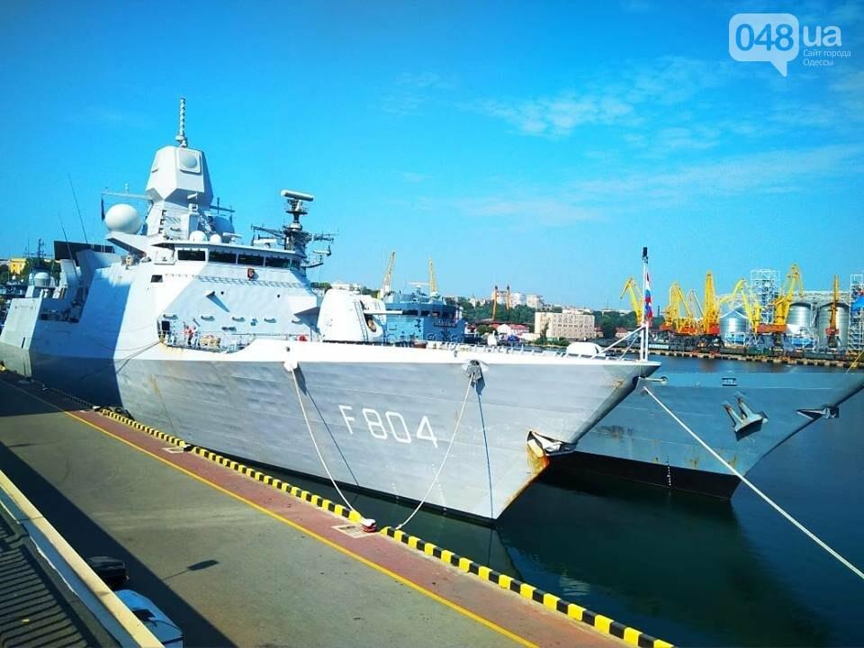 Корабли НАТО в Одессе и круизное судно у морвокзала, - ФОТОРЕПОРТАЖ, фото-4